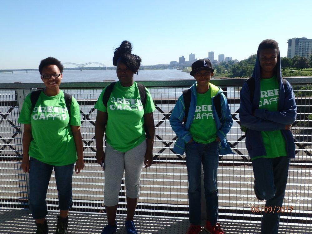 2017 Week 1: Harahan Bridge walk