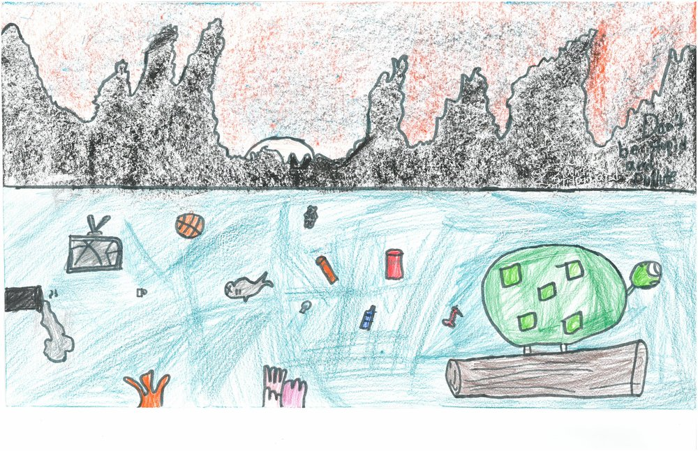 Honorable Mention! Jakeya Grant, 4th grader at Sharpe Elem.