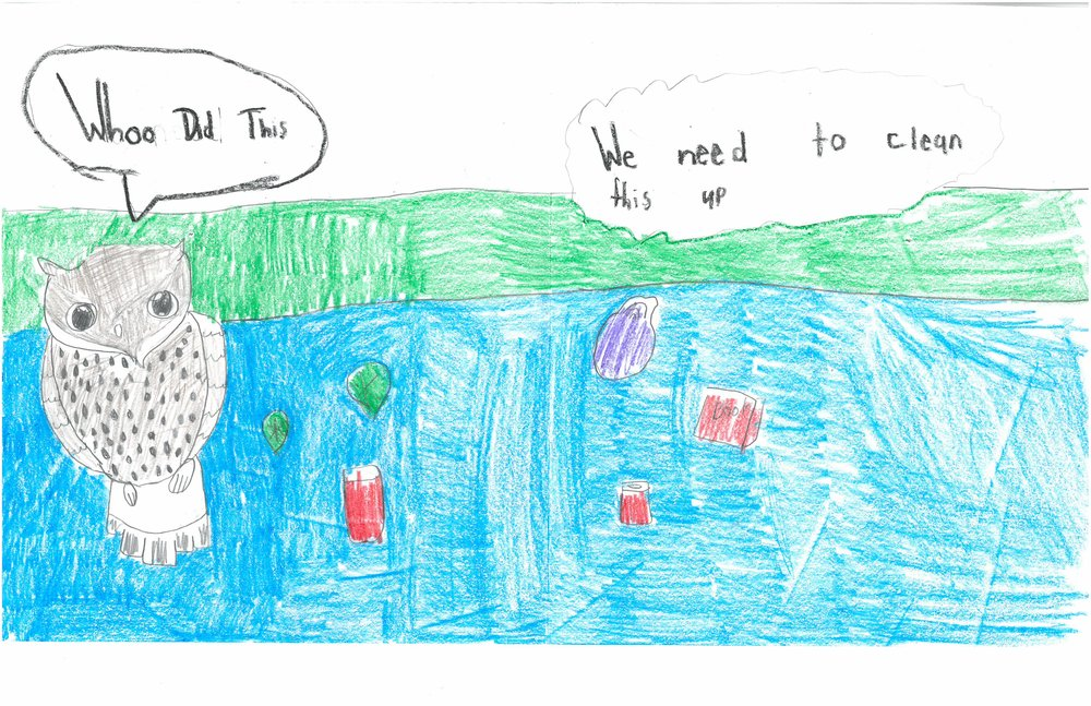 Honorable Mention! Jasmine Lukadi, 3rd grader at Shady Grove Elem.
