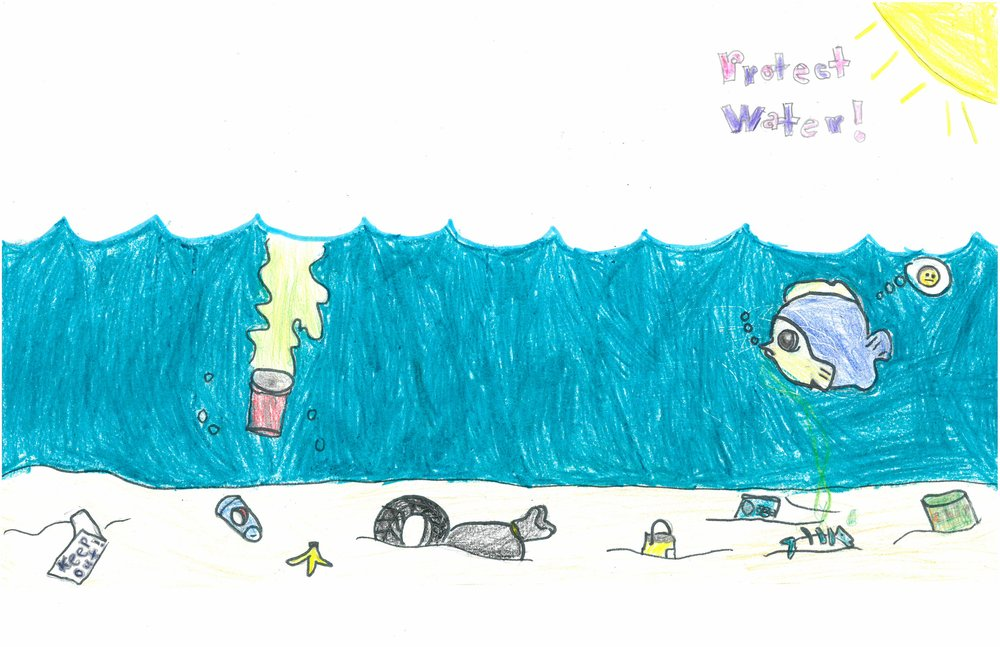Honorable Mention! Shayri Lopez, 5th grader at Sharpe Elem.
