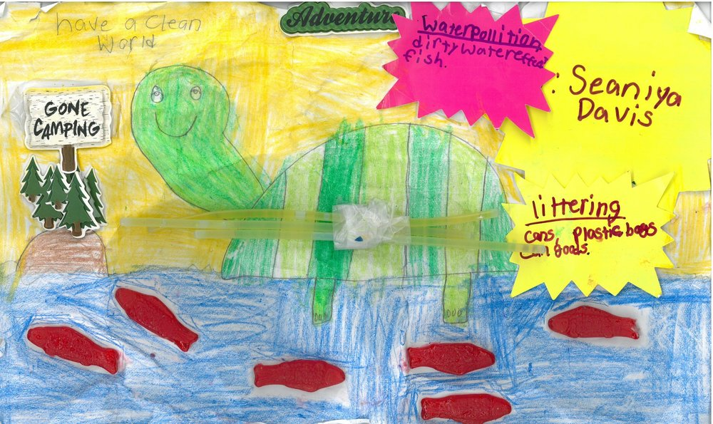 FINALIST! Seaniya Davis, 3rd grader at Shady Grove Elem.