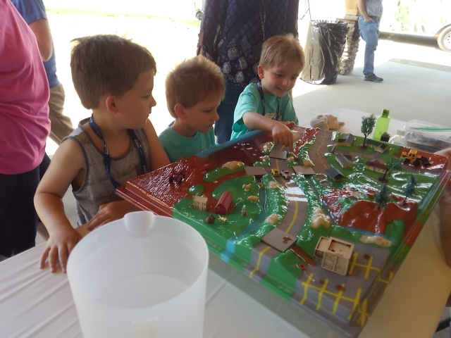 Lil' Pollution Preventer's Expo- Watershed Model