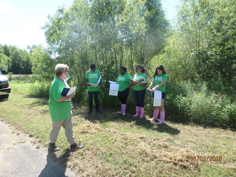 2018 Day 2, Group 1 : Urban Wetland at T.O. Fuller