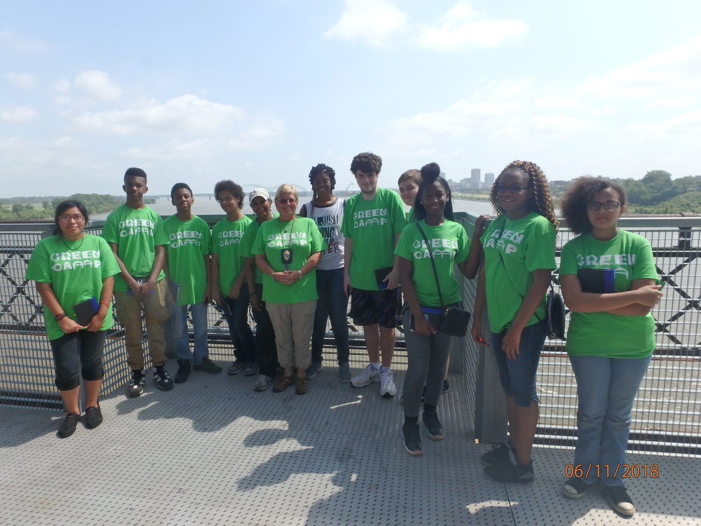 2018 Day 1, Group 2 : Harahan Bridge and Cleanup
