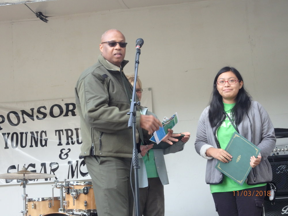 2018 GreenFest- Green Camper Ana honored