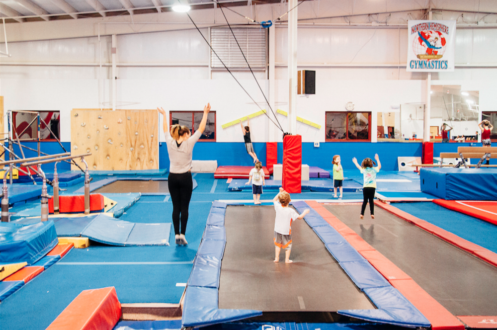 Our Preschool Summer Camp is a great way to introduce your child to gymnastics! Check out our preschool camp in Rochester, NY