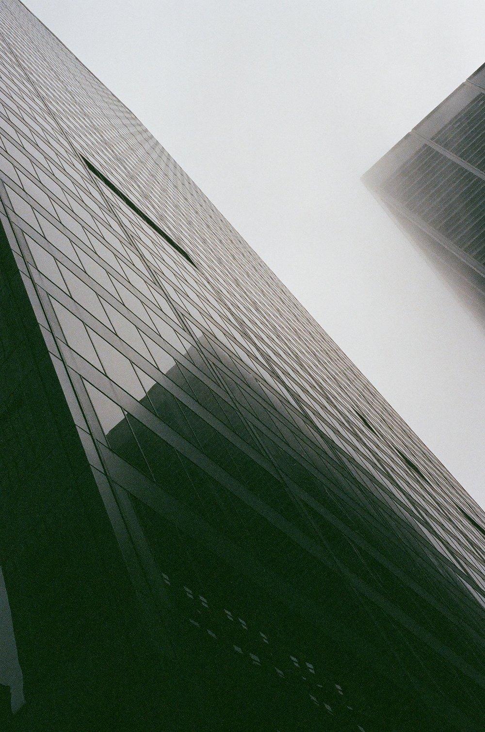 Glasscrapers , Financial District, Manhattan - 2017
