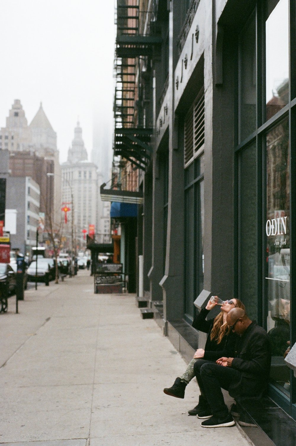 Foggy  Soho. Manhattan - 2017