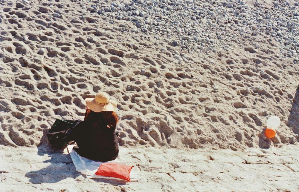 Impressionism , Nice Beach - 2018