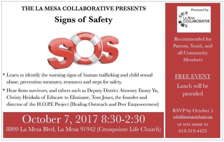 LMC Human Trafficking and Sexual Abuse Community Event.JPG