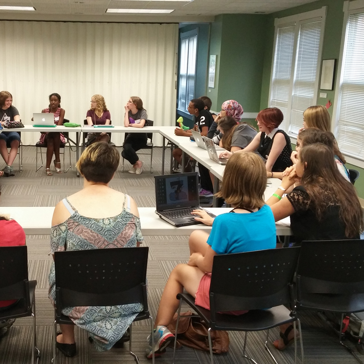 Young Writers' Studio: Biweekly Sessions for Grades 9-12