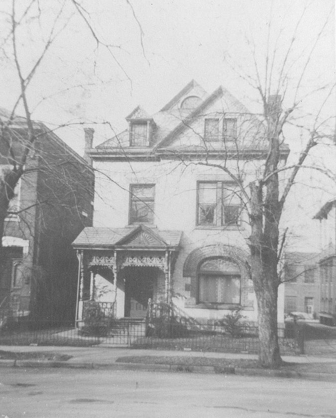 Thurber House 1900