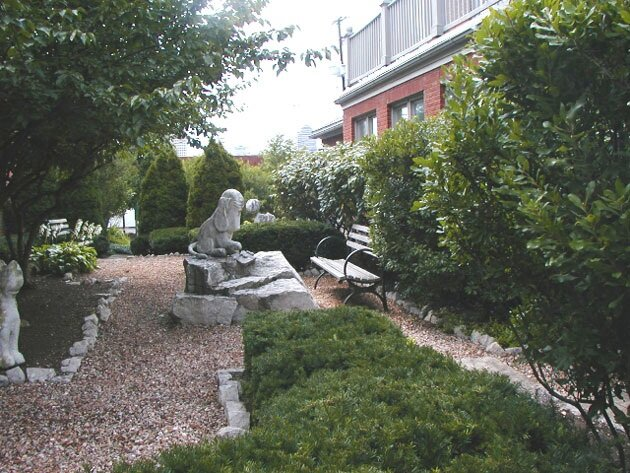 Sculpture Garden (Outside the Center)