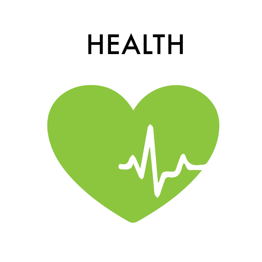 Having greater income to access broader food choices and medical care helps people live more active and complete lives.