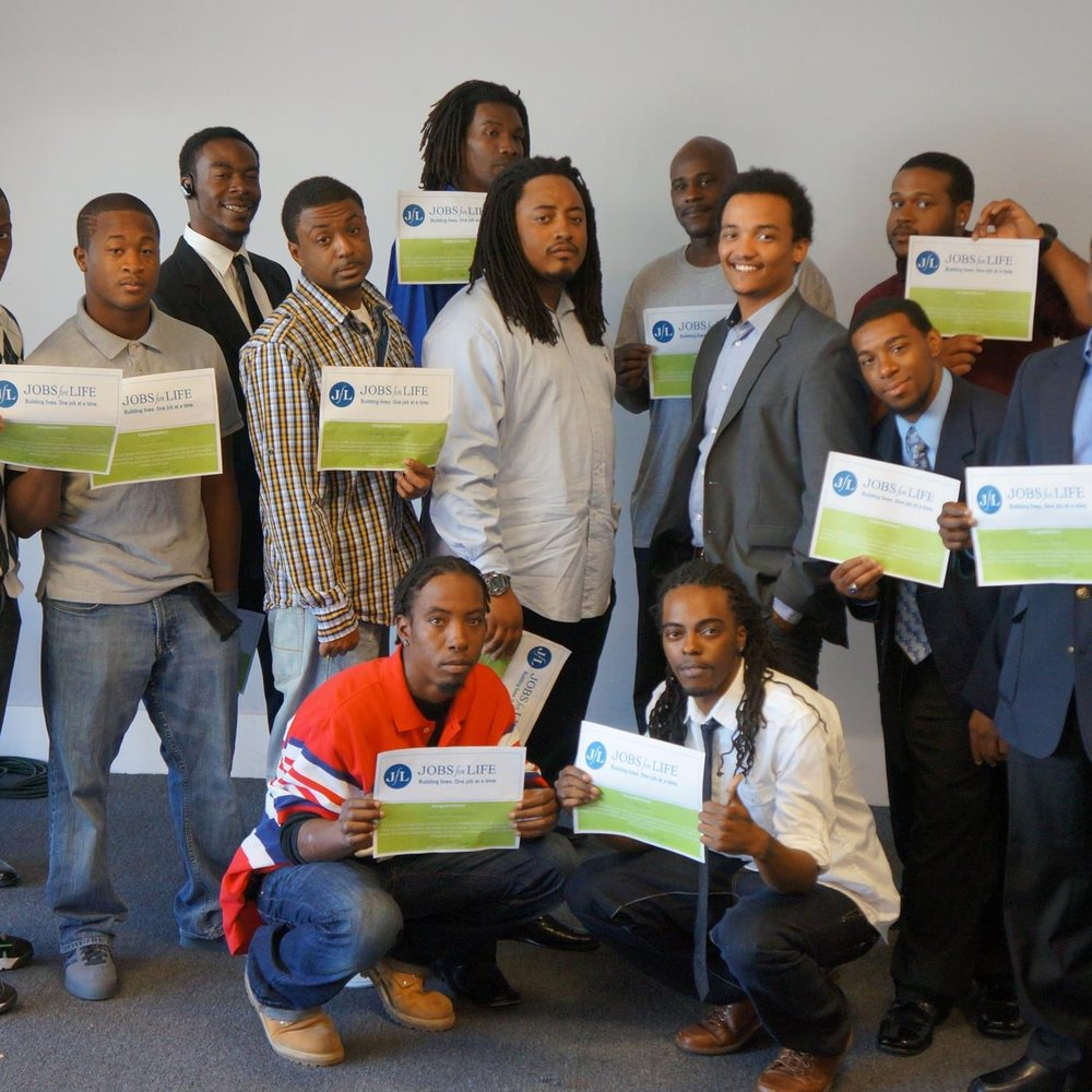 November 2012   First JLT (Jobs for Life) Graduation
