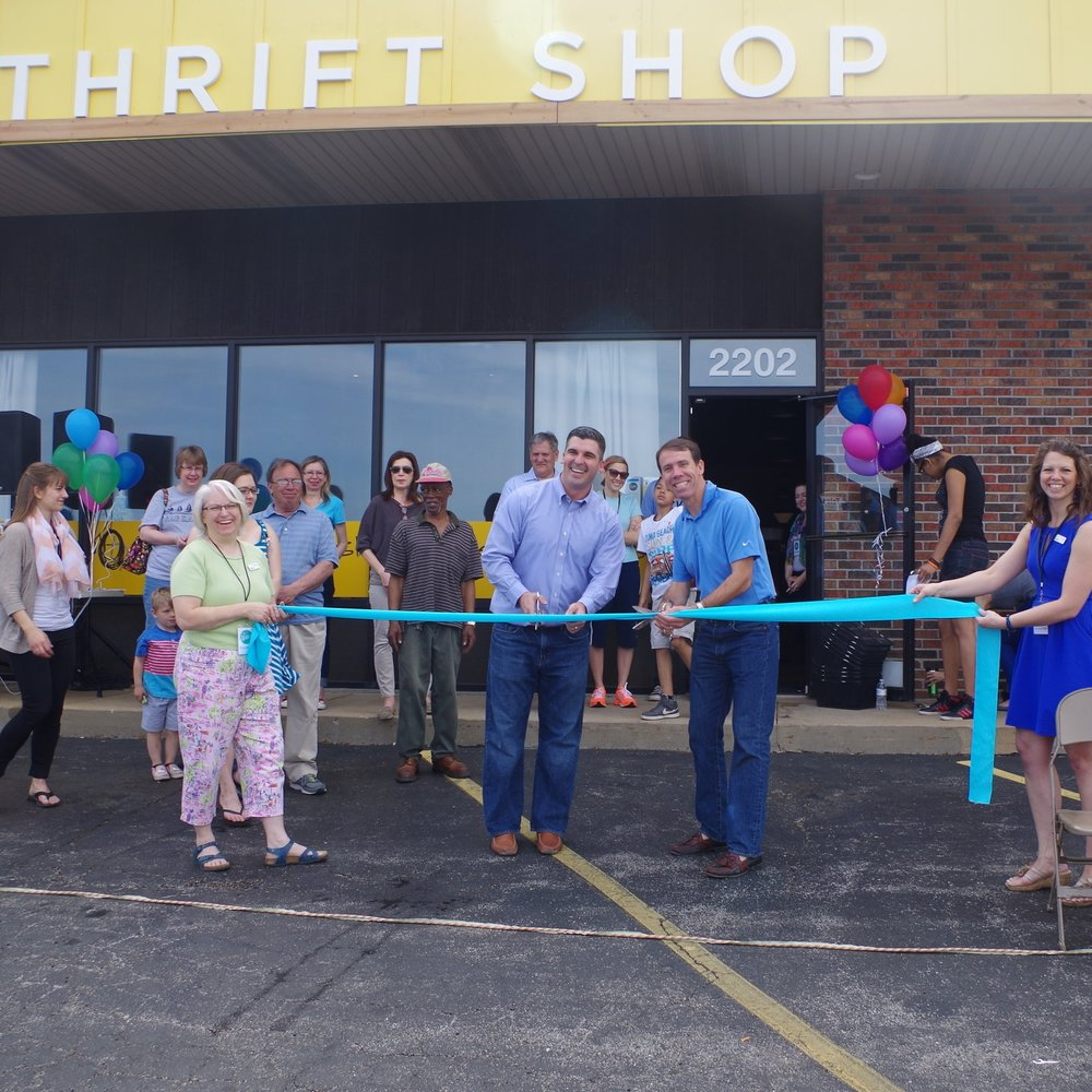 February 2014    Revive Thrift Shop  opens on Vandeventer