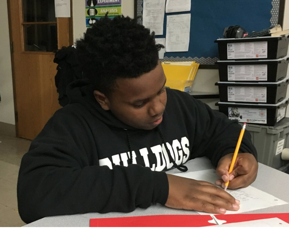 RONNELL CRAWFORD   Mar 9, 2018  My name is Ronnell Crawford. I am sixteen and a sophomore in high school at St. Louis College Prep. I am involved in a program called Beyond School with Mission: St. Louis, which is a program that helps me succeed with work both mentally and physically...