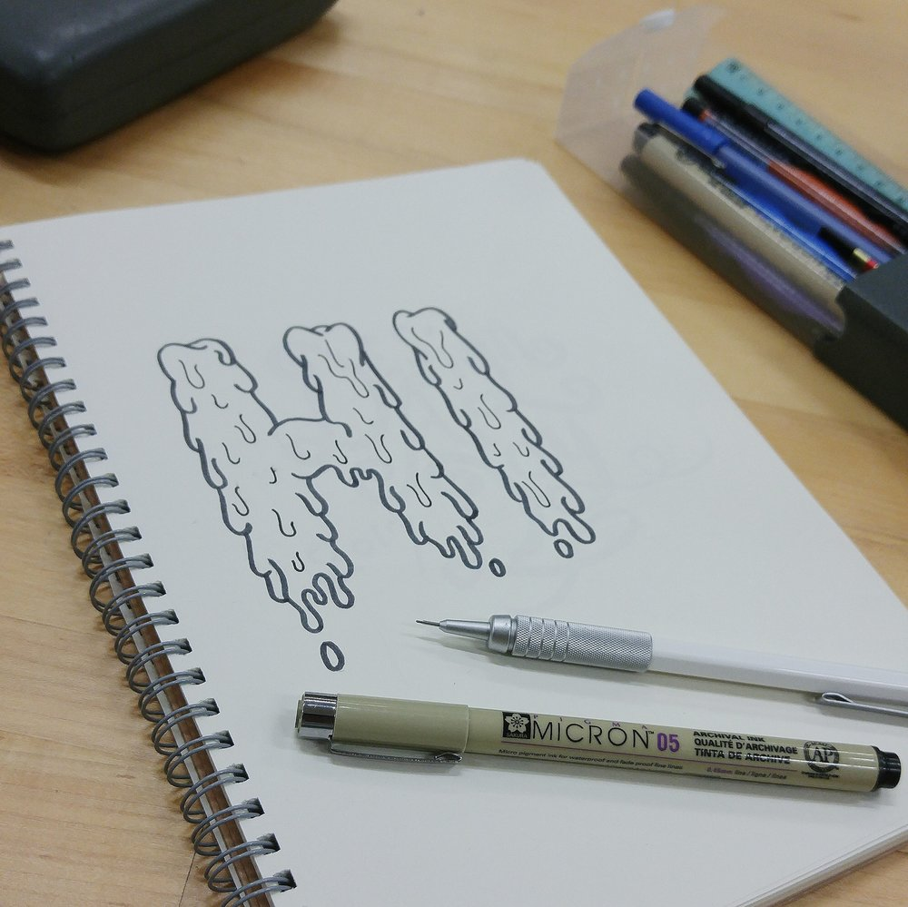 Slime doodle.