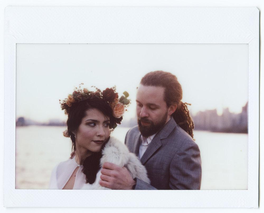 Polaroid 110B | Fujifilm Instax Wide
