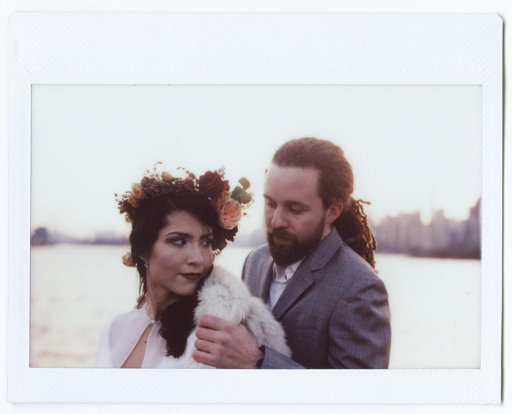 new york wedding instax polaroid