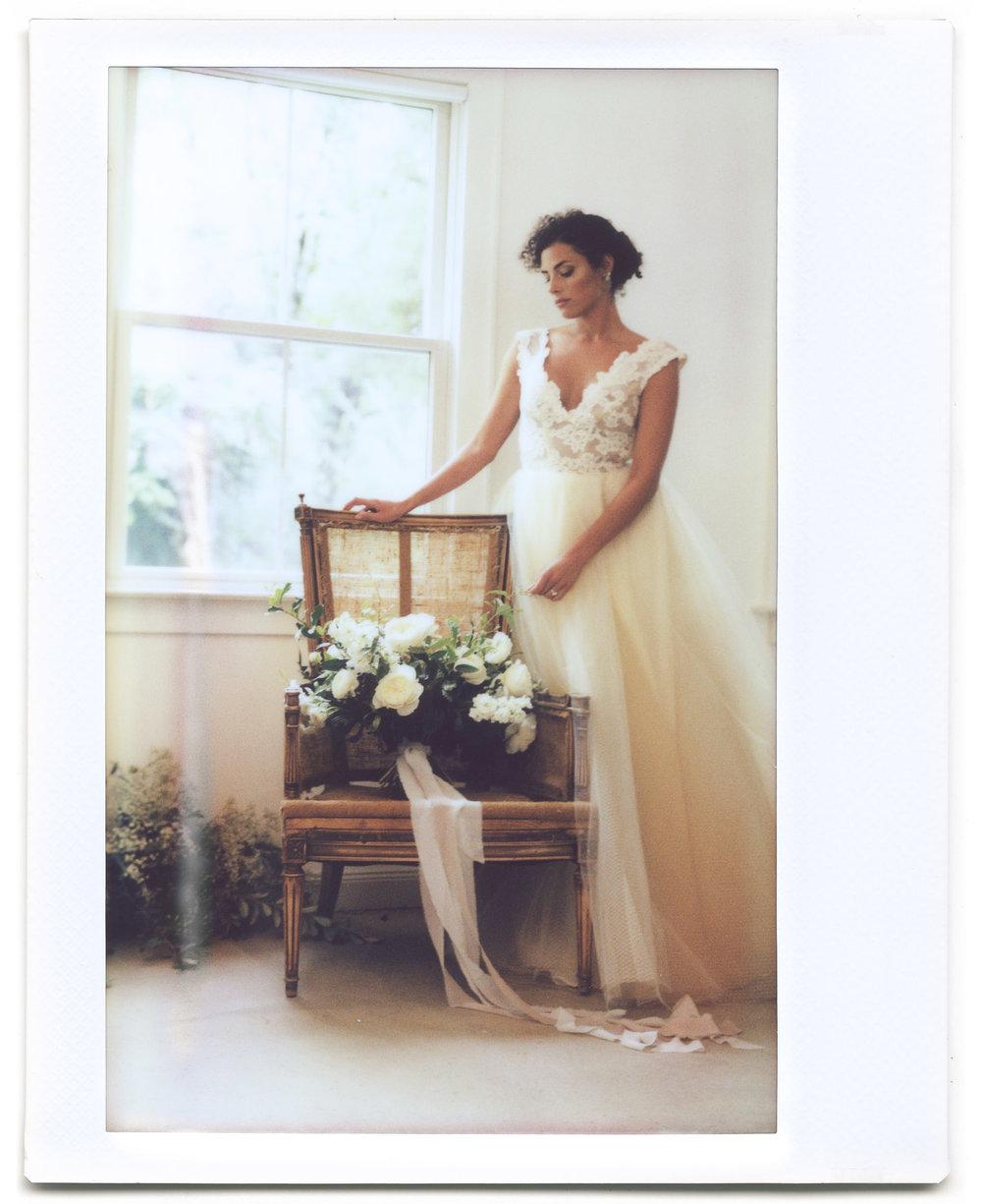 Jaclyn Jordan styled wedding NJ polaroid instax