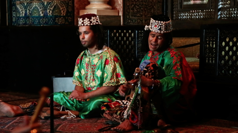 THE GNAWA MUSICIANS