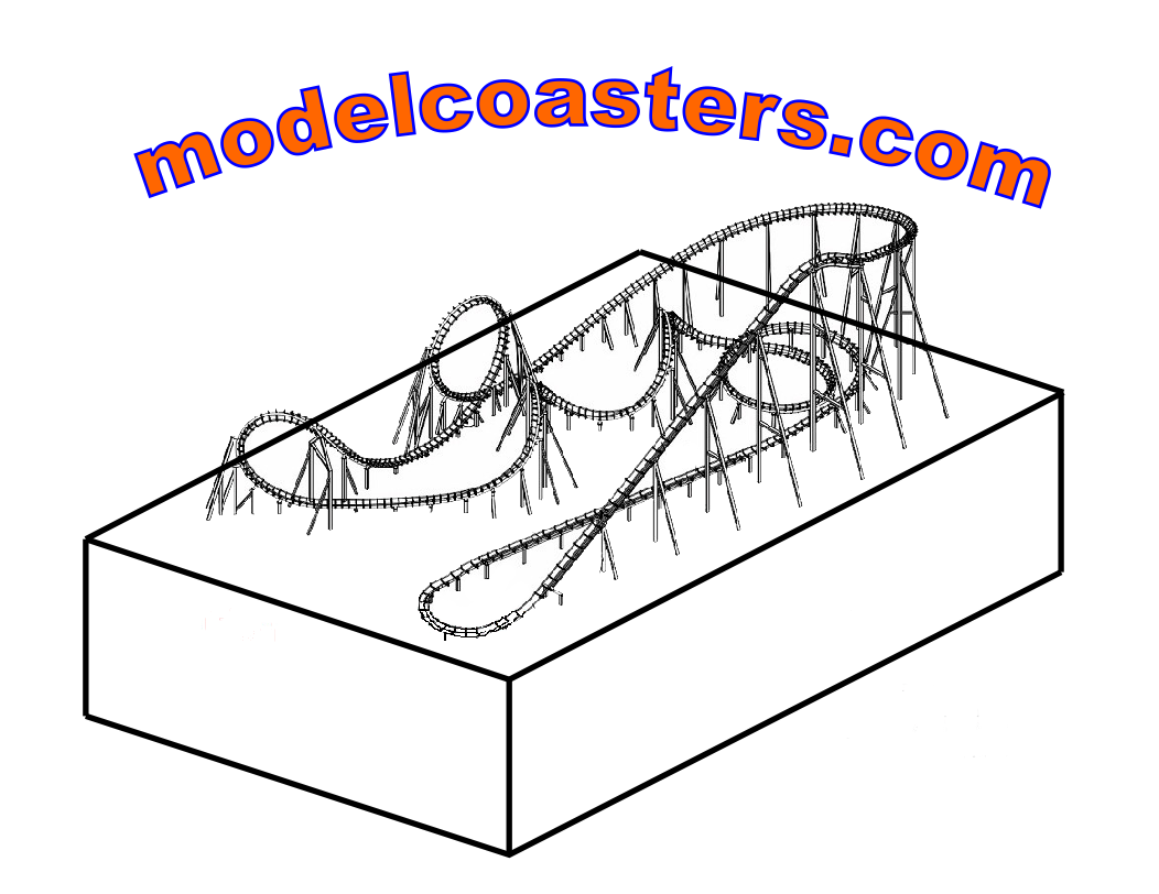 how to build a roller coaster model