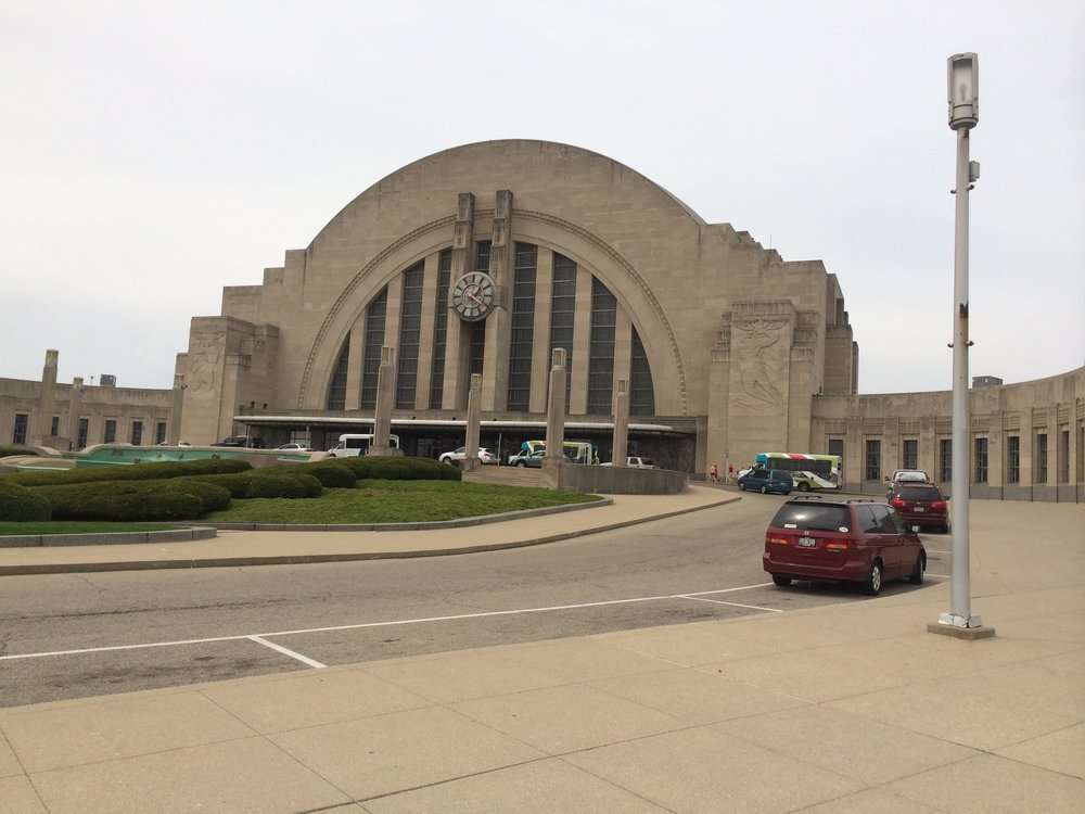 Super Friends Hall of Justice, or the Cincinnati Museum Center? It's both!
