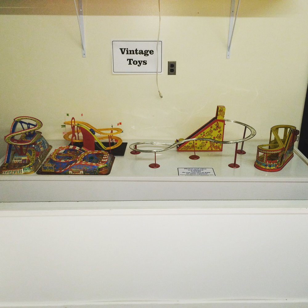 Exhibit: Playtime: Roller Coaster Toy Gallery -Vintage Toys
