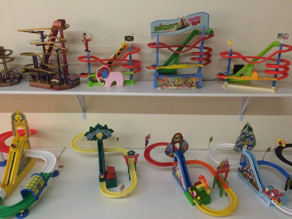 Exhibit: Playtime: Roller Coaster Toy Gallery - Illco Roller Coaster Toys