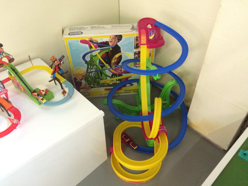 Exhibit: Playtime: Roller Coaster Toy Gallery - Little Tykes Racing Roller Coaster