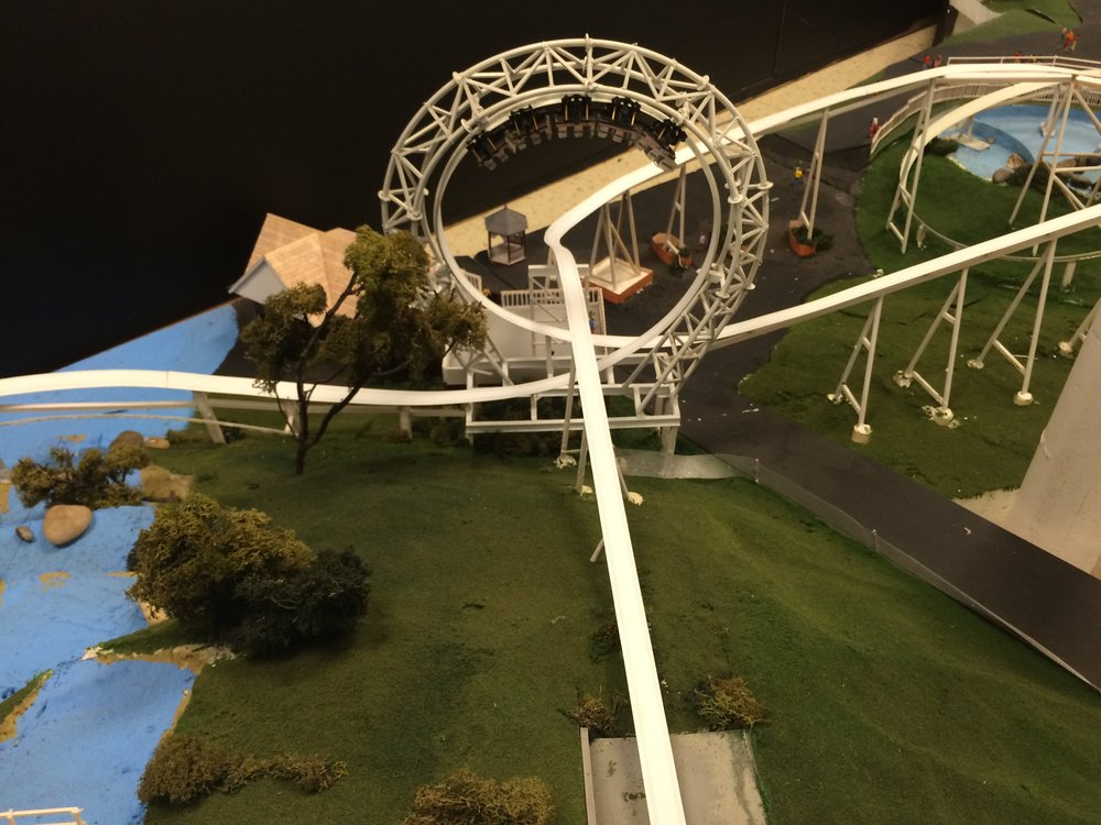 Exhibit - The Modern Looping Roller Coaster - Revolution