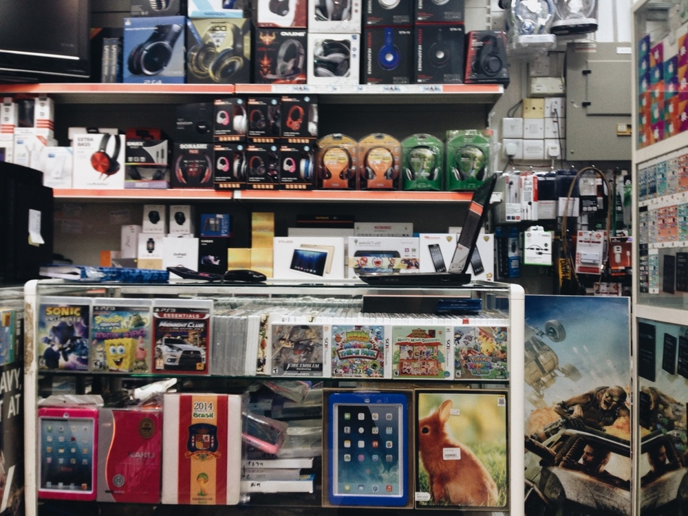 Video games dealer in Madinat Zayed