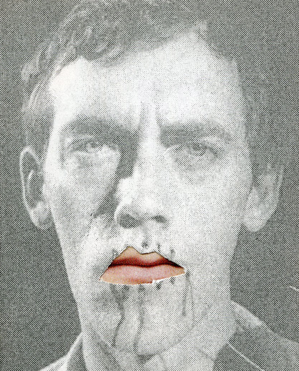 Let David Speak, collage, 2012