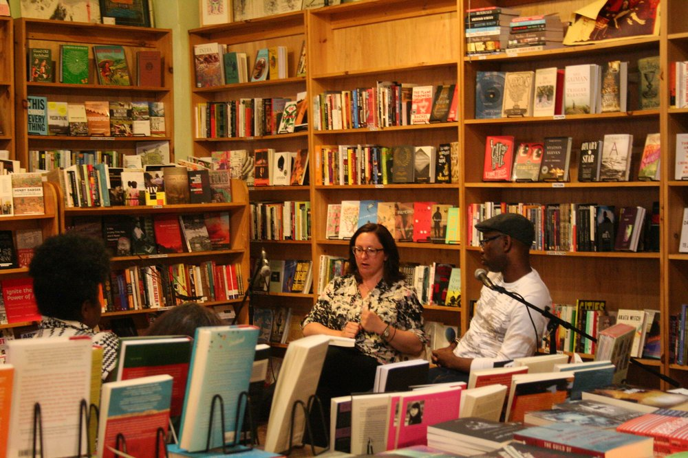 MOBILIZING NEW YORK: AIDS, Antipoverity and Feminist Activism A Conversation between Tamar Carroll and Kenyon Farrow : A reading and discussion event I organized in 2015 at Bluestockings that brought together two powerful voices. Each read recent work related to social justice and HIV/AIDS, followed by an enlightening conversation. Transcript is forthcoming.