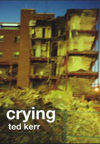 Crying, 2010, Elm Cafe, A photo series about a then recently demolished building by where I lived.