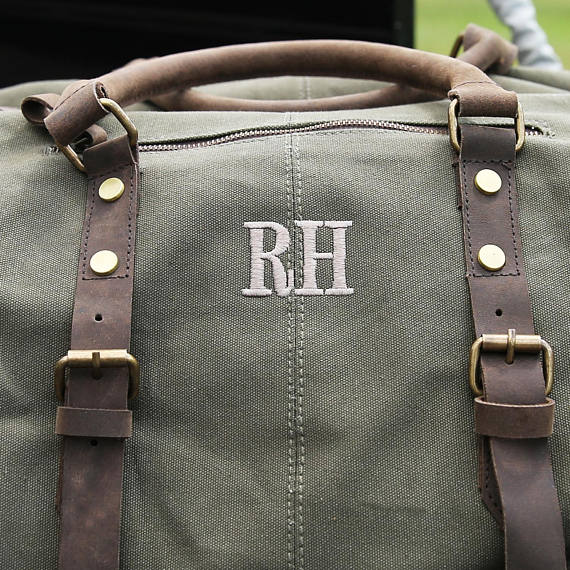 Military weekender bag-Custom Initialed - Custom Initialed$90.63 CAD