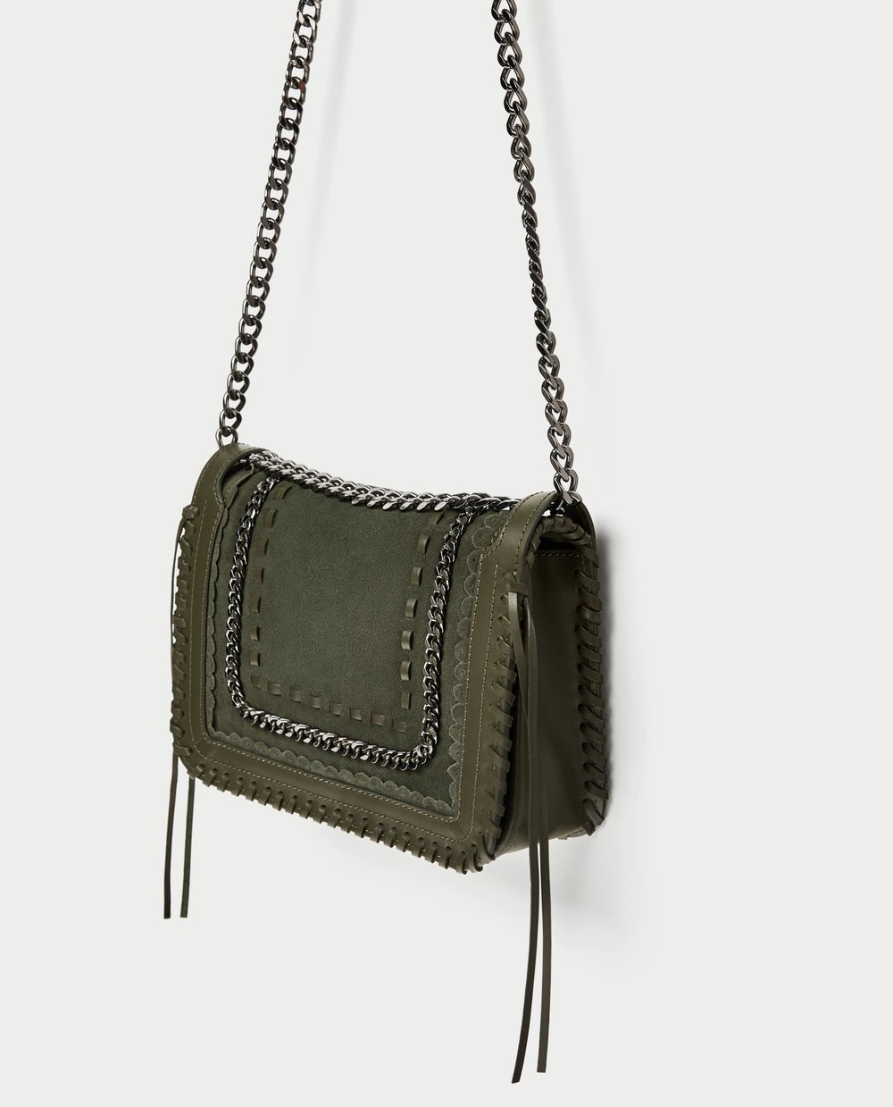 Zara Crossbody Chain Bag - 89.90 CAD
