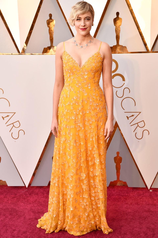 Greta Gerwig wearing Rodarte
