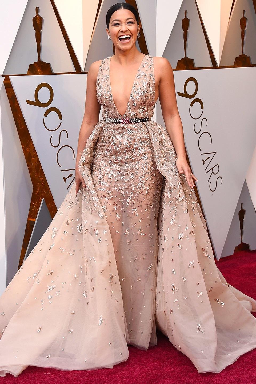 Gina Rodriguez wearing Zuhair Murad