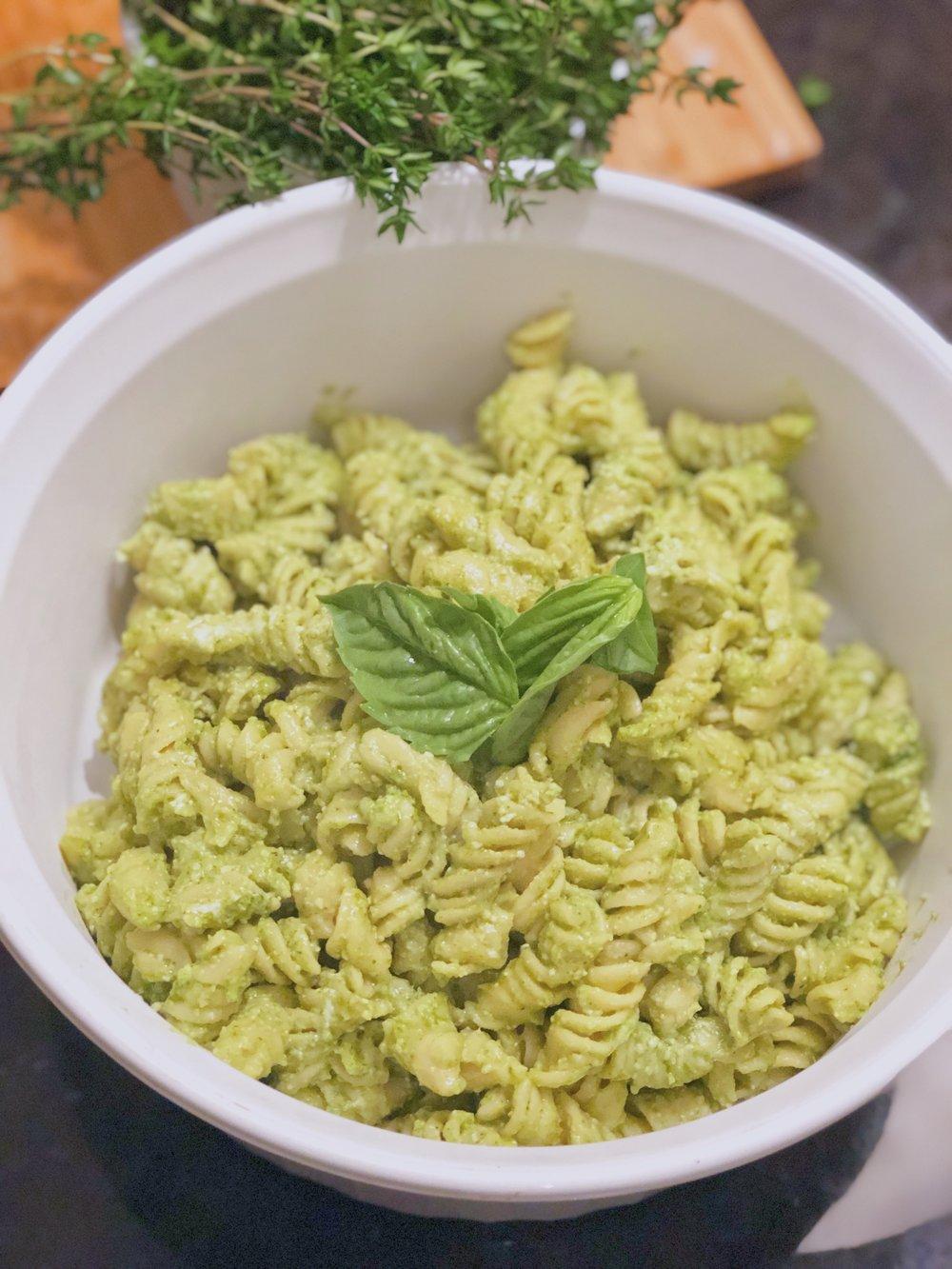 Pesto Banza