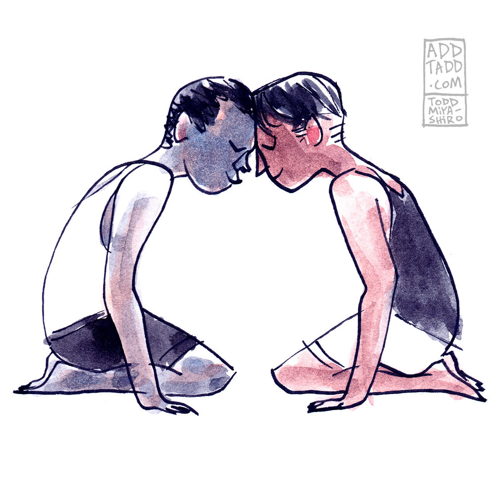WC -- Warm Up -- Brown and Black Boys -- Forehead Touch 01.01 FLAT (400 DPI).jpg