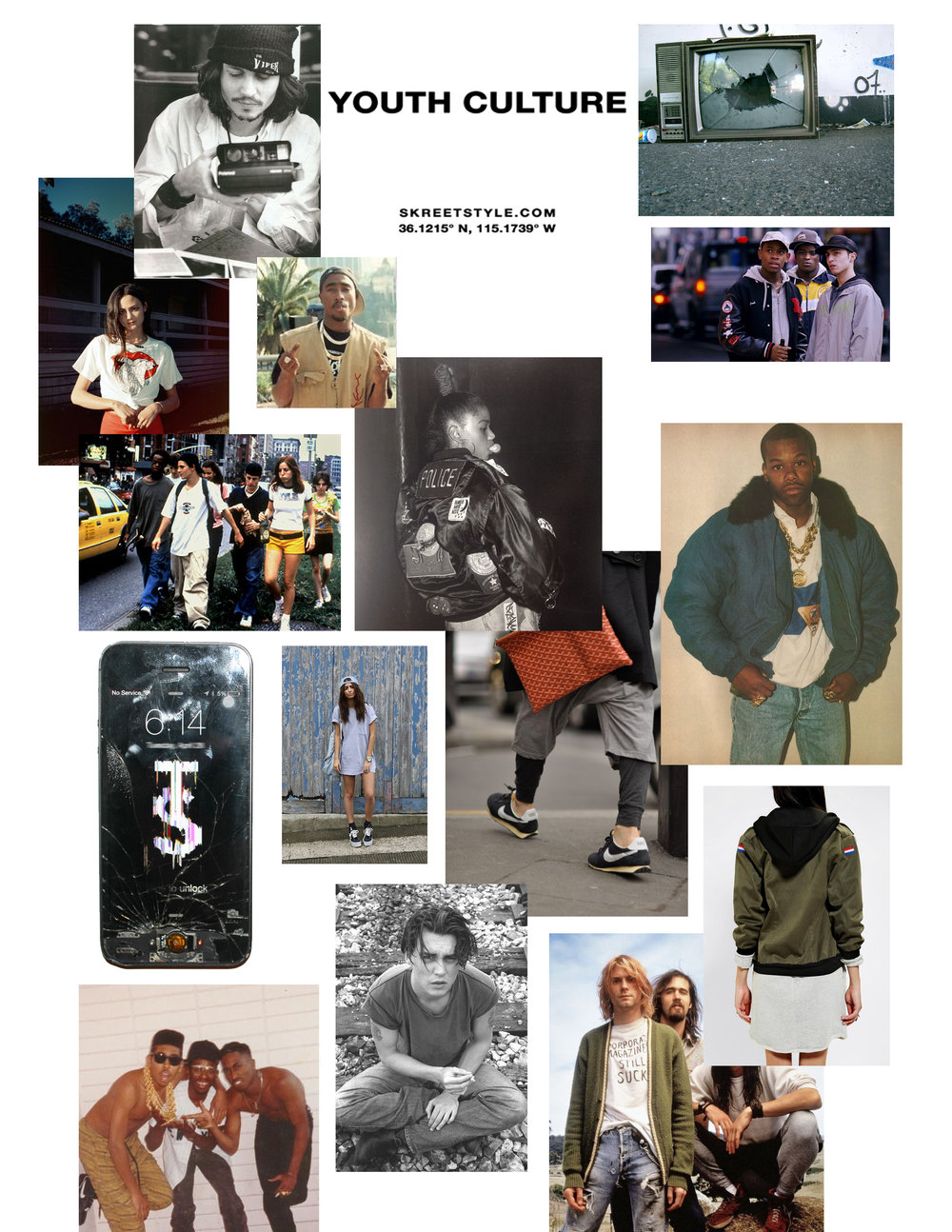 youth culture concept board