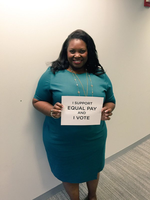 Joi Chaney,  August 23 is #BlackWomensEqualPay Day -- 8 Months Too Late