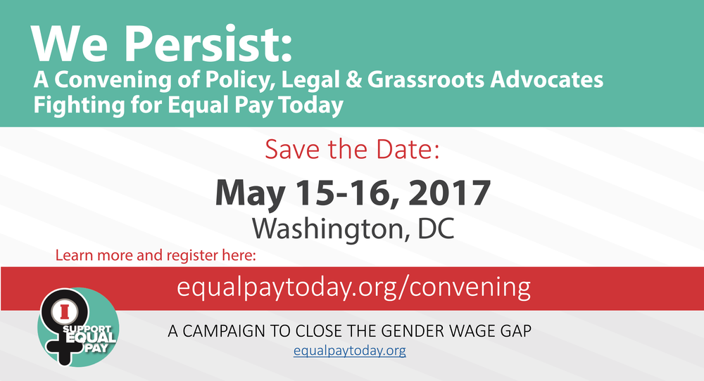 This convening is invite only. Please contact info@equalpaytoday.org with questions.