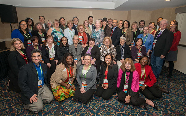 Participants in the 2015 SSP during the AACR Annual Meeting 2015 pose for a group photo.
