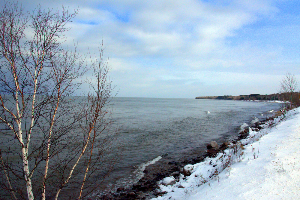 Jon and I both have a very deep connection to Lake Superior. It's hard not to. So majestic.