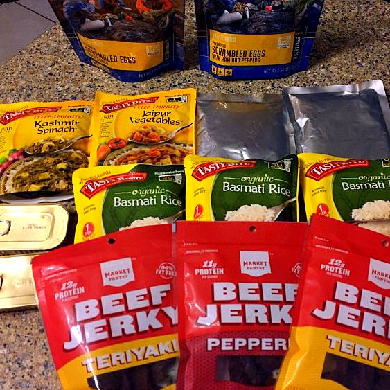 The jerky will be switched into ziplock bags. Lunch is a lighter meal, because I snack a lot during the day. Lunches are also sort of mix and match depending on hunger and activity.