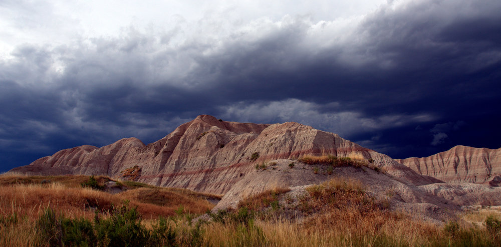 This was right before one huge storm. And right before one of the most scary times I have ever had. Back country camping in the Badlands. I never wanted to stop taking photos and it was the first and only time in my life that I had to really truly choose between amazing pictures or safety. I chose a little of both for a time, but safety in the end.