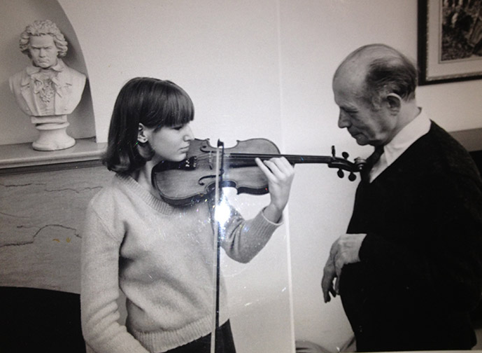 Violin and Edgar Ortenberg.JPG